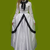 Одежда handmade. Livemaster - original item Victorian dress 1862. Handmade.