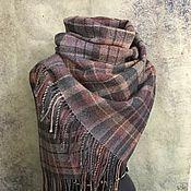 Аксессуары handmade. Livemaster - original item Woven square scarf. Handmade.