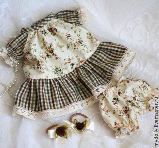Одежда для кукол ручной работы. Ярмарка Мастеров - ручная работа. Купить Комплект одежды для куклы 28- 30 см. Handmade.
