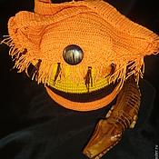 Сумки и аксессуары ручной работы. Ярмарка Мастеров - ручная работа Вязаная  полосатая сумка -торба  Калахари. Handmade.