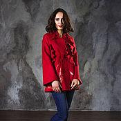 """Одежда ручной работы. Ярмарка Мастеров - ручная работа Валяный жакет """"Red"""". Handmade."""