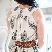 Одежда ручной работы. Ярмарка Мастеров - ручная работа Платье с рисунком Пейсли. Handmade.