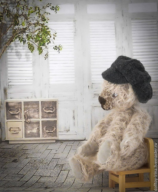Мишки Тедди ручной работы. Ярмарка Мастеров - ручная работа. Купить Мишка «Йети». Handmade. Серый, мишка тедди купить
