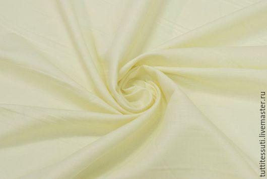 Шитье ручной работы. Ярмарка Мастеров - ручная работа. Купить Лен 02-003-1672. Handmade. Желтый, Плательная ткань