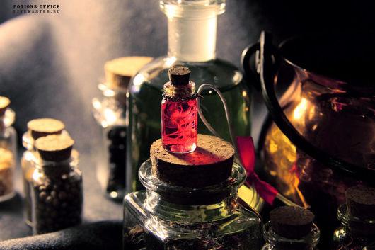 """Кулоны, подвески ручной работы. Ярмарка Мастеров - ручная работа. Купить Подвеска """"Love Potion №1"""". Handmade. Розовый, кулон"""