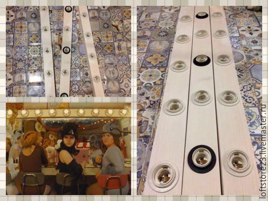 Декор поверхностей ручной работы. Ярмарка Мастеров - ручная работа. Купить Короб для гримерного зеркала.. Handmade. Комбинированный, зеркало как в ikea