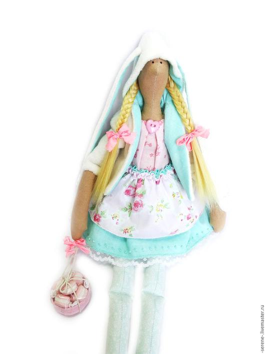 Куклы Тильды ручной работы. Ярмарка Мастеров - ручная работа. Купить Кукла Тильда Зая с макарунчиками. Handmade. Тильда, зайчик