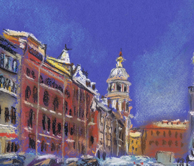"""Экосумка """"Колокольная зимой"""" / Ecobag """"Kolokolnaya street in winter"""""""