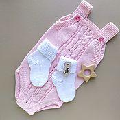 Одежда детская handmade. Livemaster - original item Bodysuit kid`s: Gift newborn girl. Handmade.