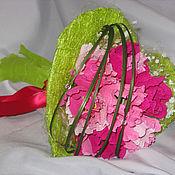 """Цветы и флористика ручной работы. Ярмарка Мастеров - ручная работа Букет из конфет """"Весна на сердце"""". Handmade."""