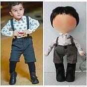 Портретная кукла ручной работы. Ярмарка Мастеров - ручная работа Портретная кукла (кукла по фото). Handmade.