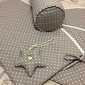 Для дома и интерьера ручной работы. Ярмарка Мастеров - ручная работа Бортики в кроватку новорожденного Базовый. Handmade.