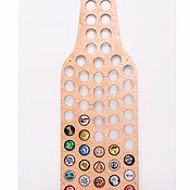 Копилки ручной работы. Ярмарка Мастеров - ручная работа Копилка бутылка для пивных крышек. Handmade.