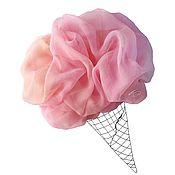 Аксессуары ручной работы. Ярмарка Мастеров - ручная работа Платок Фруктовое мороженое шелковый розовый. Handmade.