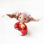 Куклы и игрушки handmade. Livemaster - original item Fairy household. The Fairy Alinka Malinka. Handmade.