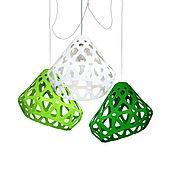Для дома и интерьера handmade. Livemaster - original item Three-color chandelier ZAHA LIGHT 6. Handmade.