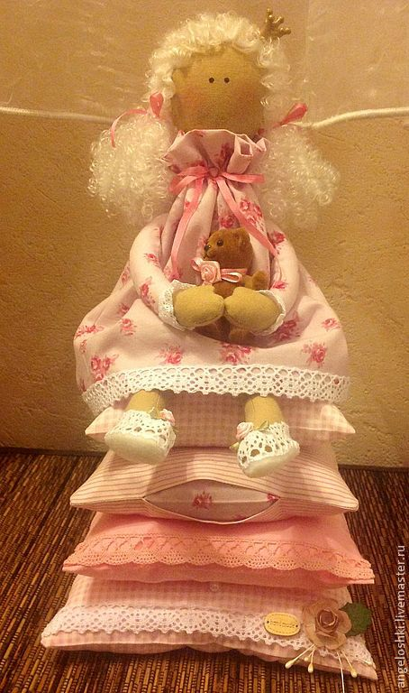 The Princess and the pea, Tilda Dolls, Moscow,  Фото №1