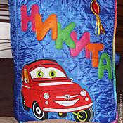"""Куклы и игрушки ручной работы. Ярмарка Мастеров - ручная работа Большая именная развивающая книжка """"Никита"""". Handmade."""