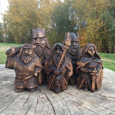 Копия работы Деревянные викинги и Северные Боги