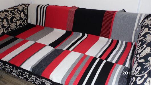 Текстиль, ковры ручной работы. Ярмарка Мастеров - ручная работа. Купить Плед шерстяной 200х140 см. Handmade. Плед, покрывало