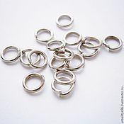 Материалы для творчества handmade. Livemaster - original item The connecting ring 5 mm (10 PCs). Handmade.