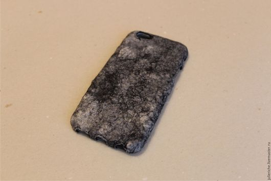 """Для телефонов ручной работы. Ярмарка Мастеров - ручная работа. Купить Чехол-бампер для IPhone 6 """"Silk Marble"""". Handmade."""