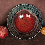 Посуда ручной работы. Ярмарка Мастеров - ручная работа Блюдо керамическое Il Grande Fratello. Handmade.