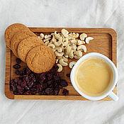Для дома и интерьера handmade. Livemaster - original item Coffee (tea) tray made of oak. Handmade.