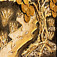 Панно денежное дерево луна. Картины. Арт-студия Павловой (art-studiya-pavlovoj). Ярмарка Мастеров.  Фото №6