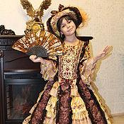 Работы для детей, ручной работы. Ярмарка Мастеров - ручная работа Бальное платье. Handmade.