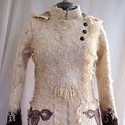 "Одежда ручной работы. Ярмарка Мастеров - ручная работа Куртка валяная ""Шаманка 2"". Handmade."