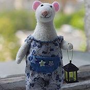 Куклы и игрушки ручной работы. Ярмарка Мастеров - ручная работа Ручной мышонок. Handmade.