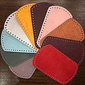Классическая сумка ручной работы. Ярмарка Мастеров - ручная работа Донышки для вязаных сумок из Эко кожи. Handmade.