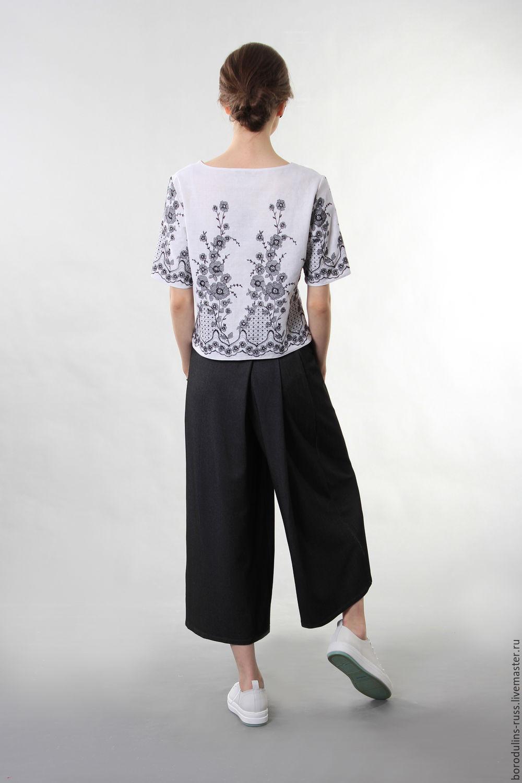 Блузки с вышивкой купить с доставкой