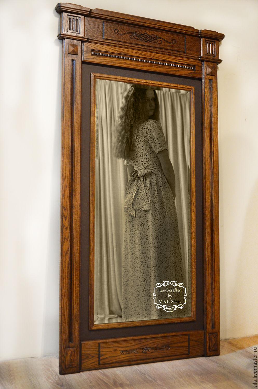Зеркало в прихожую своими руками фото