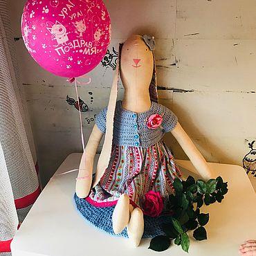 Куклы и игрушки ручной работы. Ярмарка Мастеров - ручная работа Большой заяц тильда. Handmade.