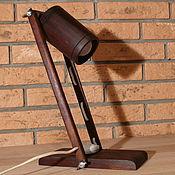 Для дома и интерьера ручной работы. Ярмарка Мастеров - ручная работа Настольная лампа из дерева. Handmade.