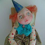 Куклы и игрушки ручной работы. Ярмарка Мастеров - ручная работа Клоун Андрюшка. Handmade.