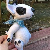 Тедди Зверята ручной работы. Ярмарка Мастеров - ручная работа Тедди собачка. Handmade.