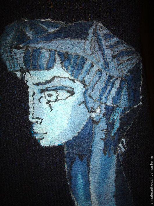 """Платья ручной работы. Ярмарка Мастеров - ручная работа. Купить Платье """"Бриджит Бордо в картине Пикассо """"-2. Handmade."""