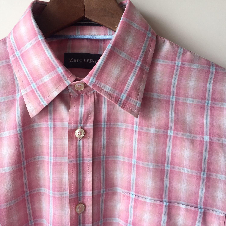 Винтаж: Премиум! Мужская рубашка Marc O'Polo, Одежда винтажная, Оренбург,  Фото №1
