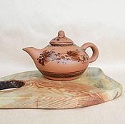 Для дома и интерьера ручной работы. Ярмарка Мастеров - ручная работа Глиняный заварочный чайник (0,7л). Handmade.