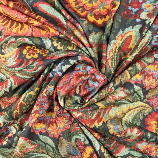 """Шитье ручной работы. Ярмарка Мастеров - ручная работа. Купить Итальянская ткань, трикотаж, """"Гобелен"""". Handmade. Комбинированный, италия"""