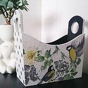 Для дома и интерьера ручной работы. Ярмарка Мастеров - ручная работа Короб для писем,бумаг. Handmade.