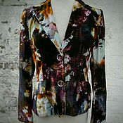 Одежда handmade. Livemaster - original item Chaqueta de terciopelo. Handmade.