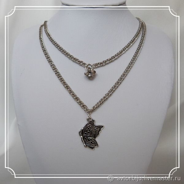 The pendant is made of two chains, Chain, Smolensk,  Фото №1