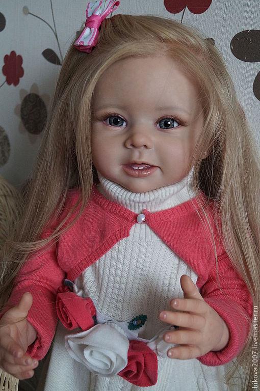 Куклы-младенцы и reborn ручной работы. Ярмарка Мастеров - ручная работа. Купить Элиза!!!. Handmade. Бежевый, генезис