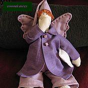 Куклы и игрушки ручной работы. Ярмарка Мастеров - ручная работа сонный ангел. Handmade.