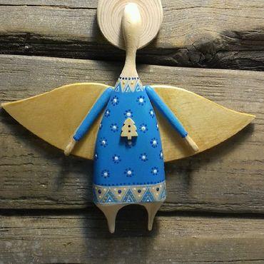 Сувениры и подарки ручной работы. Ярмарка Мастеров - ручная работа Ангел на ёлку. Handmade.