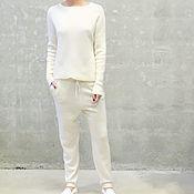 Одежда handmade. Livemaster - original item Women`s cashmere suit buy Loro. Handmade.